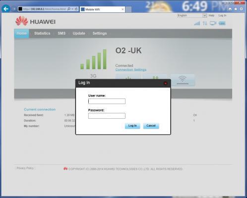 how to change wifi password huawei e5220